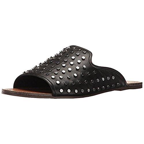 Jessica Simpson Women's Kloe Slide Sandal, Black, 9 Medium US JS-KLOE