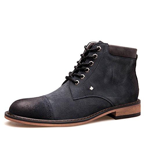 casual chaussures robe alpinisme automne plein air [fond mou] boots glisser sur blanc-Gris Longueur du pied=42EU MMmfdlN