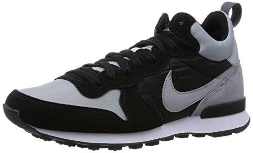 Nike Internationalist Mid - Calzado Deportivo para hombre Varios colores (Gris / Negro (Wolf Grey / Wlf Grey-Blk-Drk Gry))