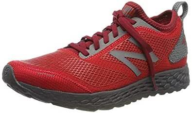New Balance Men's Gobi V3 Fresh Foam Trail Running Shoe, Team red/Magnet, 8.5 D US