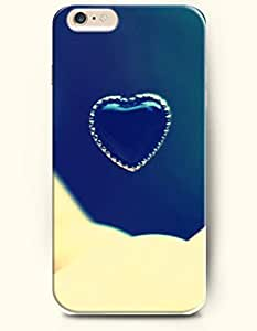iPhone 6 Plus Case 5.5 Inches Love-shaped Ornament - Hard Back Plastic Case OOFIT Authentic