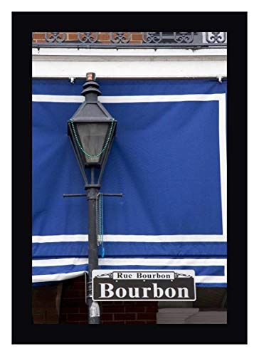 Louisiana, New Orleans Bourbon Street lamppost by Wendy Kaveney - 14