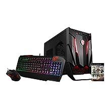 MSI Nightblade 3 VR7RC-020US i5-7400 GTX1060, 8GB/128SSD & 1TB Personal Computer, Black