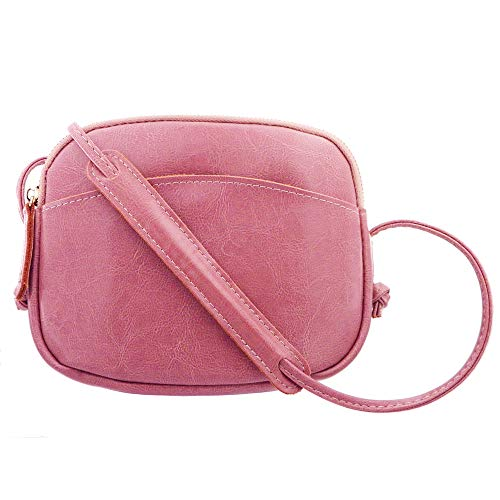 (Genuine Leather Small Crossbody Bags Shoulder Bag for Women Cell Phone Purse and Handbags)
