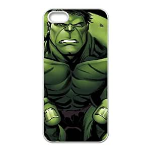 iPhone 5 5s Cell Phone Case White Hulk is Angry Bejoq