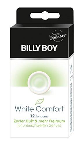Billy Boy White comfort 12er- transparente Kondome mit angenehmem Duft und mehr Freiraum