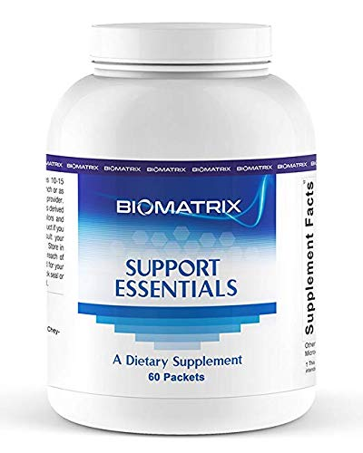 Support Essentials (60 Packets) - Complete Highly Bioavailable Daily Multivitamin Packets with Fish Oils, Minerals, Antioxidants, Resveratrol and More