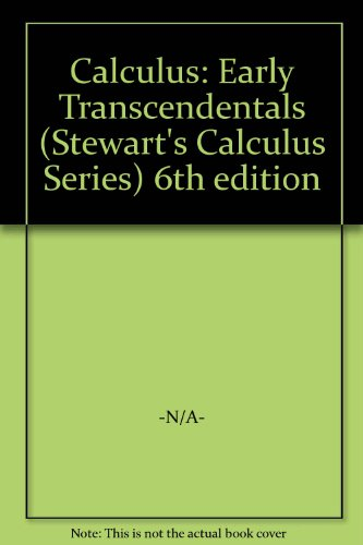 Calculus,Early Transcendentals