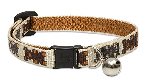 (LupinePet 1/2-Inch Teddy Bears Cat Safety Collar with Bell, 8 to 12-Inch)