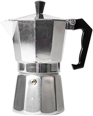Gerimport Cafetera, Aluminio, Gris, 12 cm: Amazon.es: Hogar