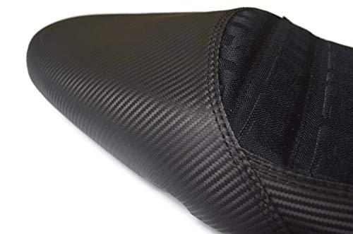 Kawasaki Z125 Seat Custom Carbon Black Stitching For Kawasaki Z125 2013-2019 And Z125 Pro All Model