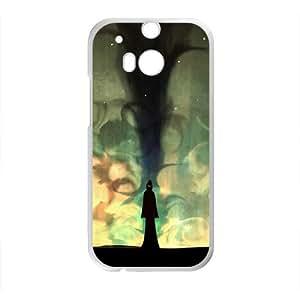 Creative Night Graffiti Custom Protective Hard Phone Cae For HTC One M8