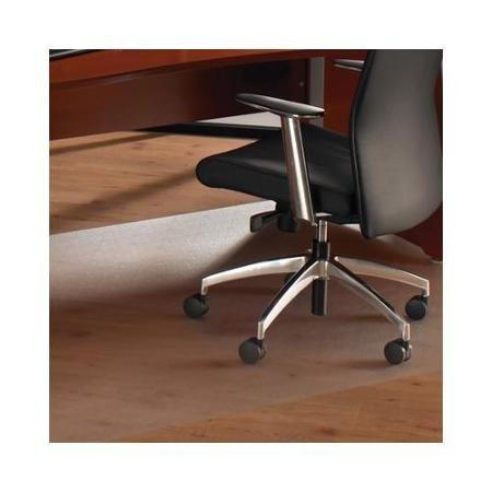 "Floortex 1215020019ER Hard Floor Mat, 79""L x 60""W, 75 mil, C"