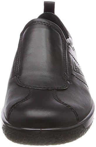 Ecco Damen Soft 1 Sneaker Schwarz (Black)