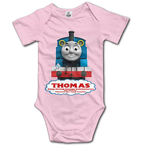 (Thomas And Friends Unisex Boys Girls Short Sleeve Bodysuit Snapsuit)