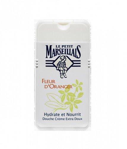 Le Petit Marseillais 1 Bottle of Body Wash Your Choice, French Shower Cream 6 Varieties 250ml (8.4oz) (Fleur d'Oranger (Orange Blossom))