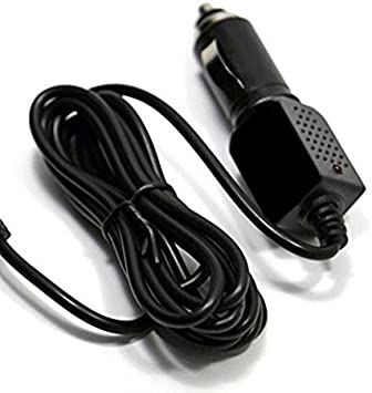 CAR Coiled Power Cord Replacement for Cobra SSR-50 SSR-80 Radar Detector