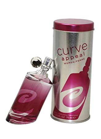 Liz Claiborne Curve Appeal Eau De Toilette Spray for Women, 2.5 Ounce