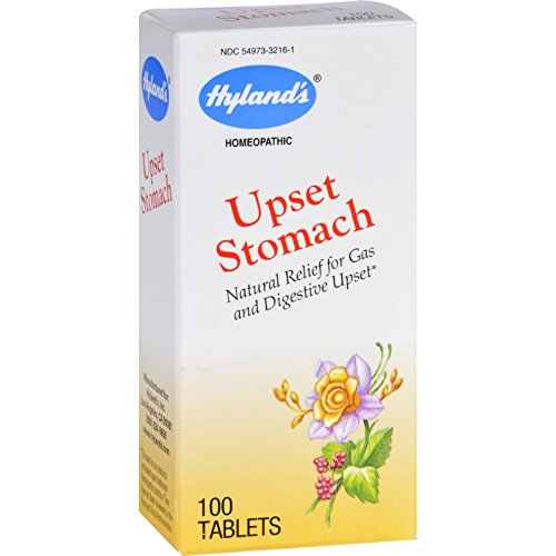 Hylands Homeopathic Upset Stomach - 100 Tablets (Pack of 4) ()