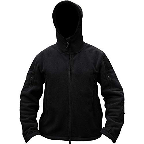 Blouson Hiver Serface Homme Polaire Velour Hoodie Extérieure Haut Casual Chaud Pour Zip Noir Veste En Manteau rxq1nPSxH