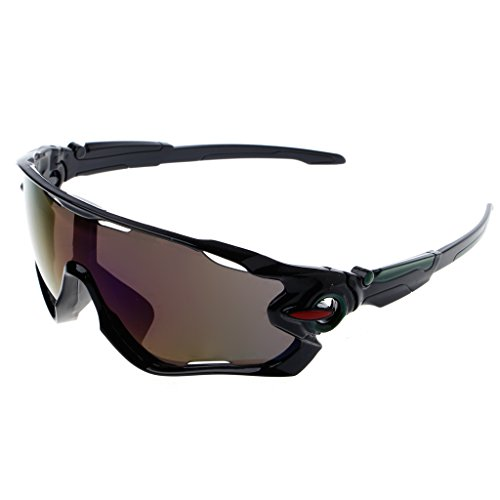 NNDA CO 1 Pc Cycling Eyewear Bicycle Sun Glasses Mountain Bikes Sport Explosion-proof Goggles, UV400 - And Co Eyewear