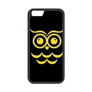 iPhone 6 Plus 5.5 Inch Cell Phone Case Black Chi Omega Black Owl SLI_552107