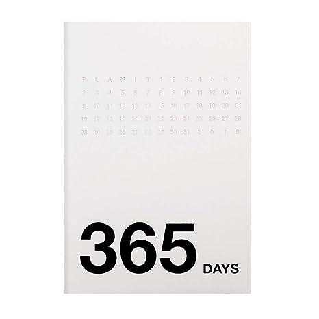 Organizador Planificador Agenda 365 días Cuaderno diario A5 ...