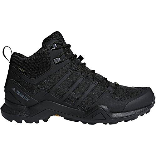 adidas outdoor Men's Terrex Swift R2 Mid GTX¿ Black/Black/Black 11.5 D US