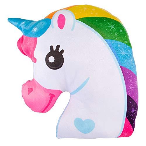 (Booboolala Soft and Cuddly Magical Unicorn Pillow)