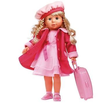 Bayer Design 94635 46cm Charlene Funktionspuppe mit Haaren und Schlafaugen günstig kaufen Babypuppen & Zubehör