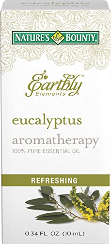 Nature's Bounty Earthly Elements Eucalyptus Essential Oil...