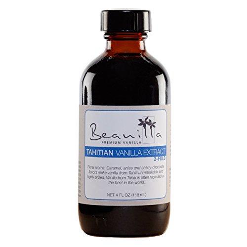 Tahitian Vanilla Extract (Double-Fold) - 4 fl oz (2x Vanilla Extract compare prices)