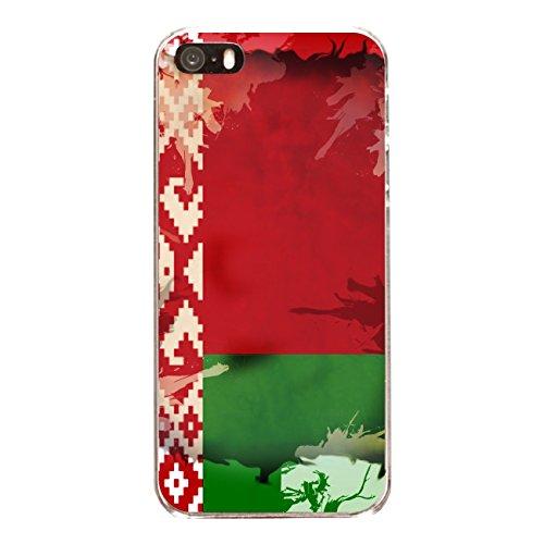 """Disagu Design Case Coque pour Apple iPhone SE Housse etui coque pochette """"Weißrussland"""""""