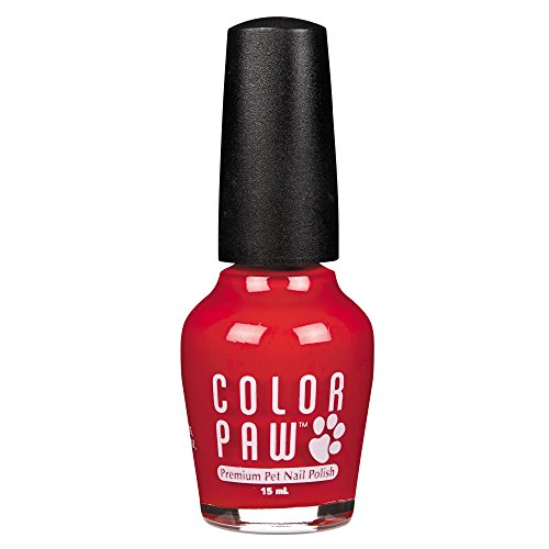 Top Performance Color Paw Nail Polish for Dogs, True Red