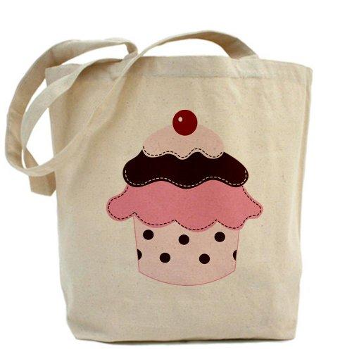 Caqui Sweetness Cupcakes Medium Para Cafepress Bolsa Lona Xv0nwn