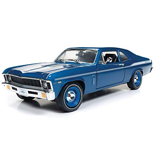 ROUND 2 LLC 1969 Chevy Nova Yenko Coupe Die Cast Car - 1:18 Scale Chevrolet Collectible