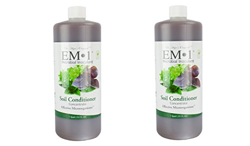EM-1 Microbial Inoculant Fermented Micobial Product for Soil Conditioning (2 Quart) (Of 1 Store 2 1 2)