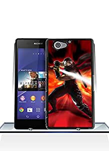 Sony Z2 Compact Funda Case, Game - Ninja Gaiden High Impact Personalized Creative Distinctive Style Dust-proof Scratch Resistant Hard Back Funda Case For Sony Xperia Z2 Compact [Just fit for Z2 Compact]