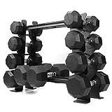 XPRT Fitness Rubber Dumbbell Stand – Dumbbell