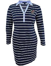 Women's Striped Shirtdress