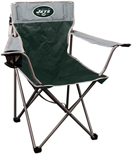 NFL New York Jets NFL Kickoff Quad Folding Chair New York Jets, (Nfl Collapsible)