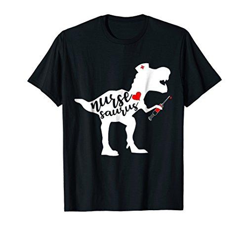 Nurse Saurus T-Shirt Funny