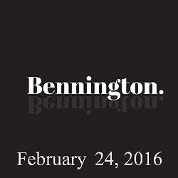 Bennington, Tom Papa, February 24, 2016