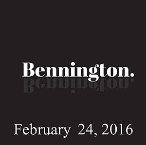 Bennington, Tom Papa, February 24, 2016 Radio/TV Program