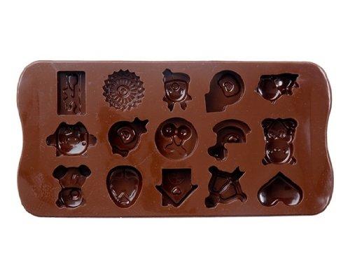 Silicone Cartoon Character Chocolate Mold & Ice Tray