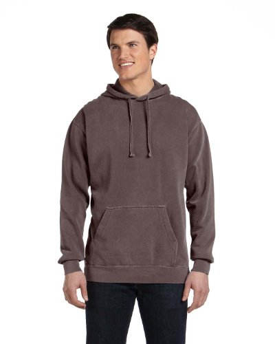 Comfort Colors 1567 Garment Dyed Pullover Hood. - Chocolate - M