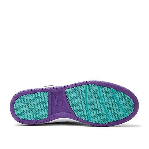 Supra skateboard shoes S1W Williams Purple / Black / White, shoe size:42.5