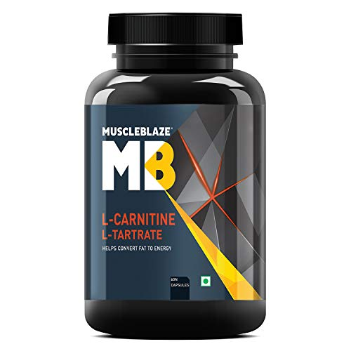 MuscleBlaze L Carnitine L Tartrate,  60 Tablets