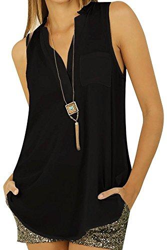 Women Blouse Casual Long Sleeve V-neck Leopard Chiffon Shirt - 7