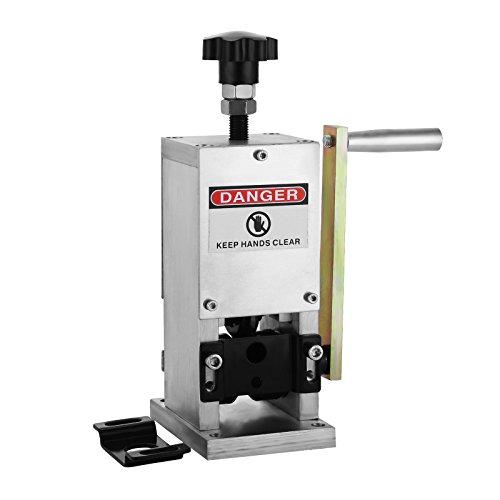 CO-Z Manual Wire Stripping Machine Portable Scrap Cable Stripper 0.06-0.98 for Scrap Copper Recycling